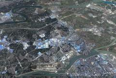 Foshan, Guangdong - aerial photograph