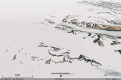 East Greenland - aerial photograph